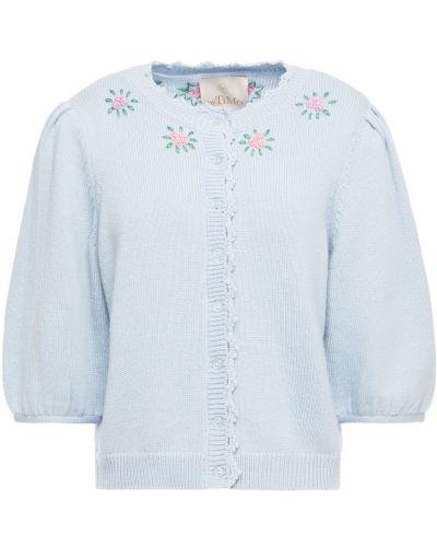 Niebieski sweter moherowy Bytimo