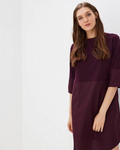 Платье осеннее фиолетовый Befree