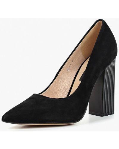 Туфли на каблуке осенние замшевые Winzor