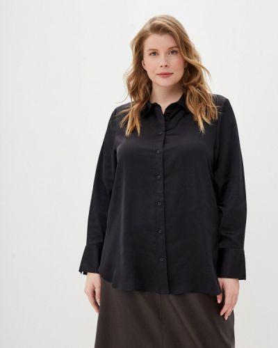 Черная блузка с длинными рукавами Marks & Spencer