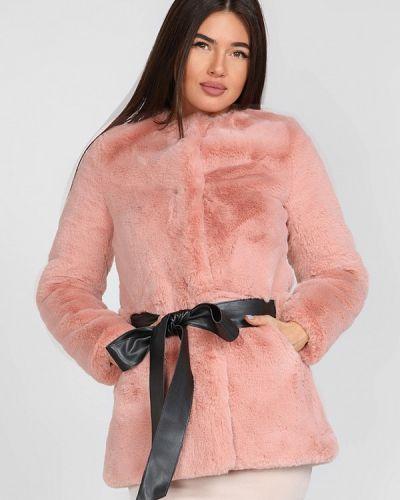 Розовая шуба Gepur