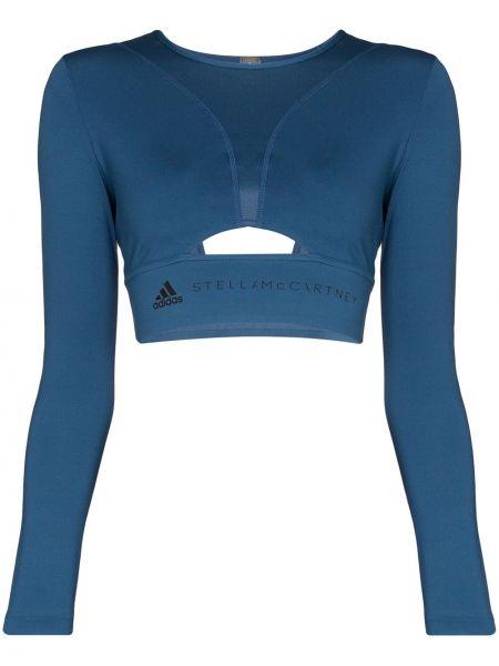 Спортивный топ короткий длинный Adidas By Stella Mccartney