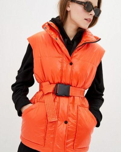 Жилет утепленный - оранжевая Sfn