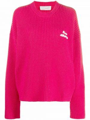 Шерстяной свитер - розовый Giada Benincasa