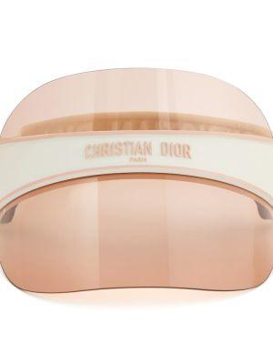 Różowy daszek Dior Eyewear