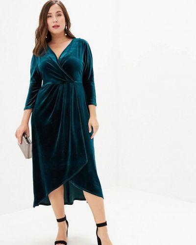 Платье прямое зеленый Irina Vladi