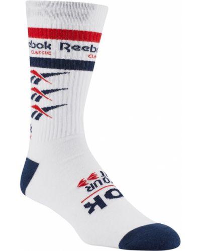 Носки высокие спортивные с логотипом Reebok
