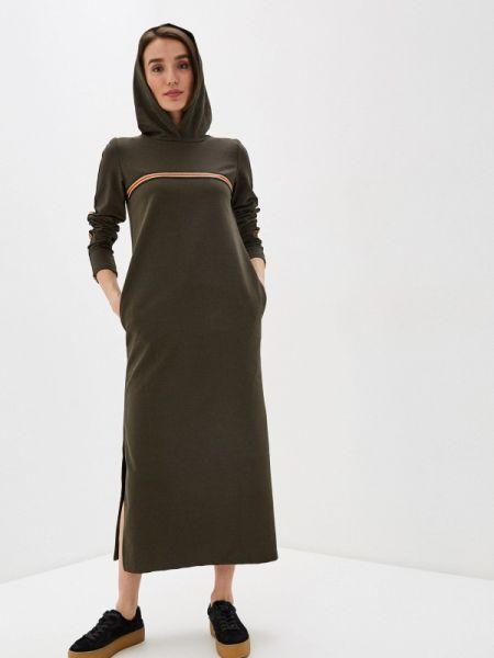 Платье платье-толстовка зеленый Winzor