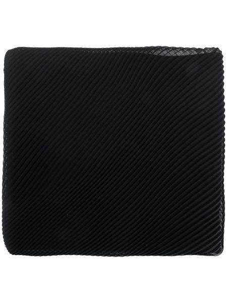 Черный шарф из микрофибры Capucci
