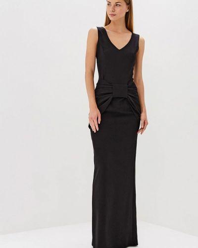 Платье весеннее черное Bruebeck