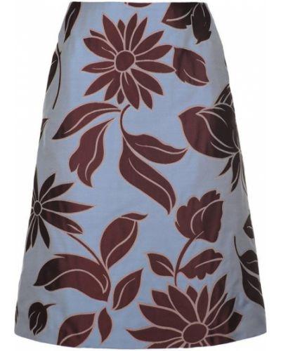 Синяя юбка Maliparmi