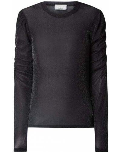 Czarny sweter z nylonu Neo Noir