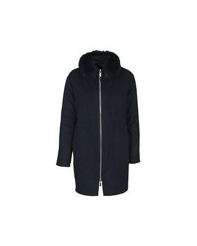 Шерстяная куртка - черная Moorer