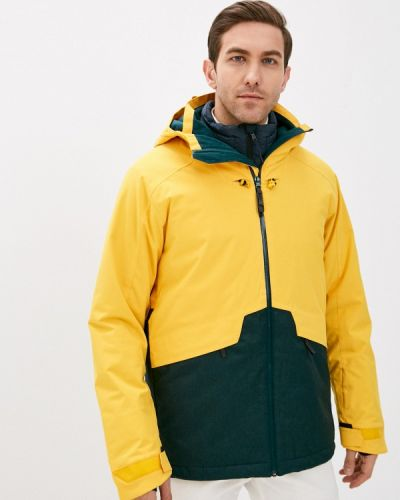 Желтая куртка горнолыжная сноубордическая O`neill