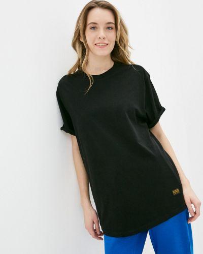 Черная футболка с короткими рукавами G-star