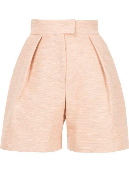 Однобортные розовые шорты Martin Grant