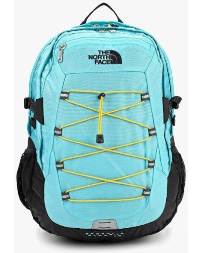 Голубой рюкзак городской The North Face