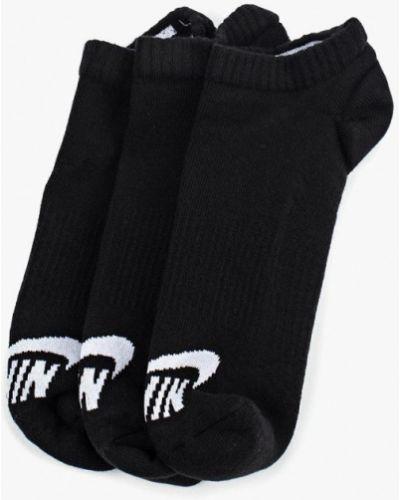 Черные носки Nike