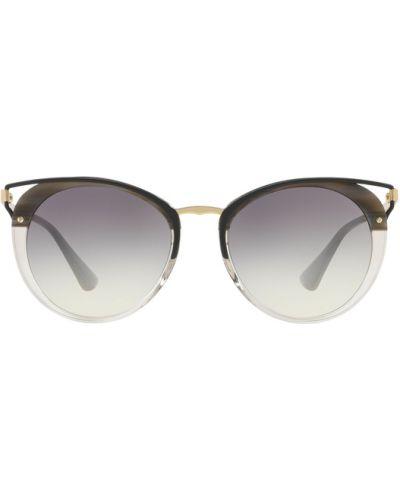 Szare okulary Prada