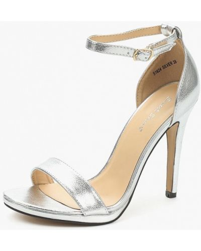 Босоножки серебряного цвета Sweet Shoes
