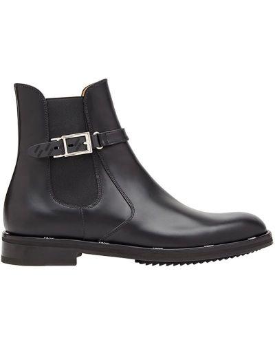 Ботильоны кожаный для обуви Fendi
