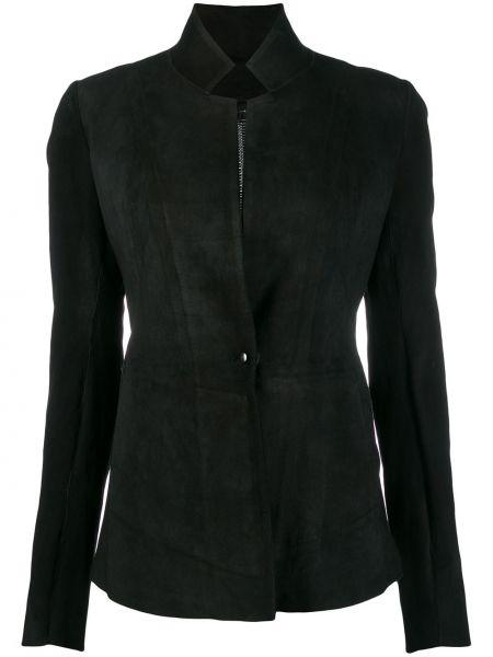 Черная длинная куртка Isaac Sellam Experience