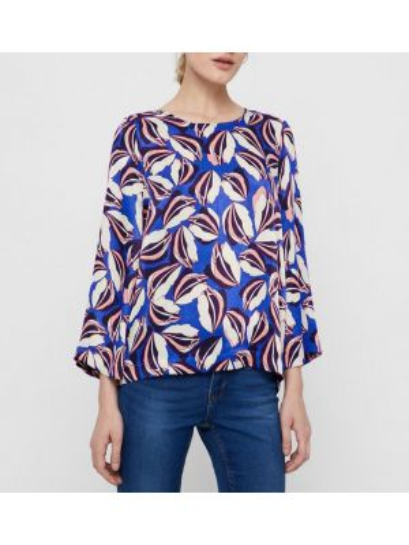 Блузка с вырезом с рисунком Vero Moda