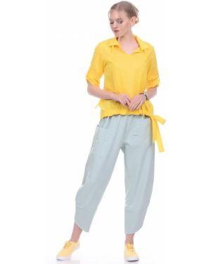 Повседневные брюки с накладными карманами с манжетами с декоративной отделкой Lautus