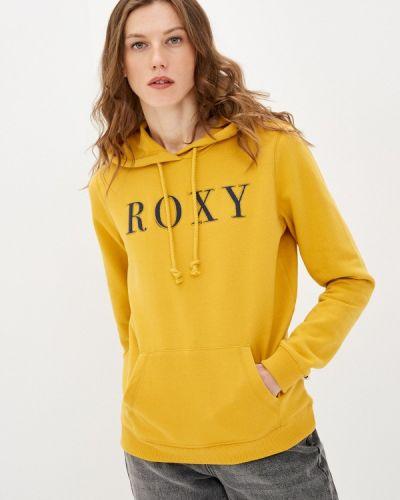 Желтая толстовка Roxy