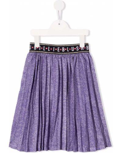 Spódnica plisowana - fioletowa Billieblush