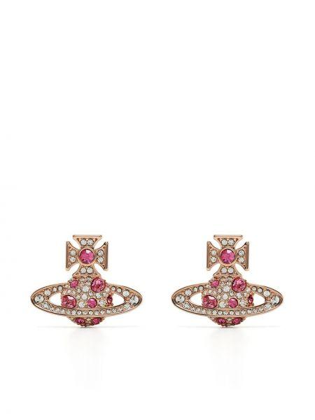 Серьги - розовые Vivienne Westwood