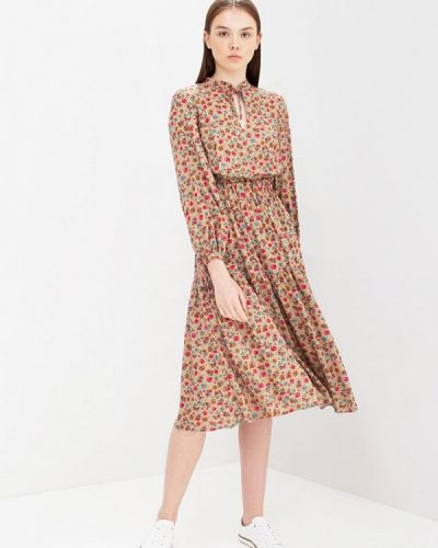 Платье - коричневое Oks By Oksana Demchenko