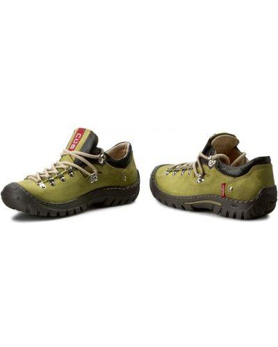 Туфли - зеленые Nagaba