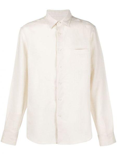 Koszula z długim rękawem z kieszeniami z łatami Peninsula Swimwear