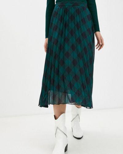 Клубная зеленая плиссированная юбка Concept Club