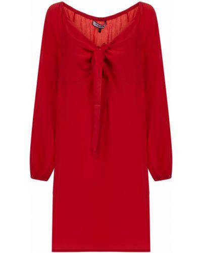 Czerwona sukienka Fisico