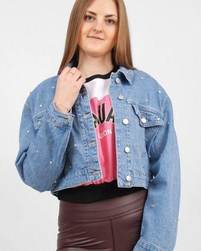 Синяя джинсовая куртка Sab