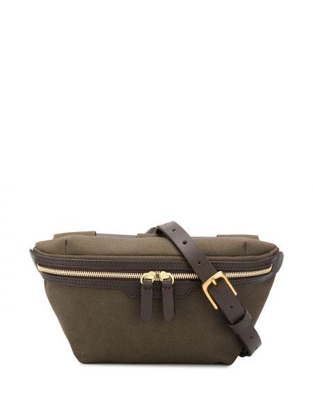 Парусиновая поясная сумка с помпоном с поясом Mismo