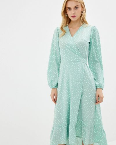 Платье с запахом весеннее Imocean