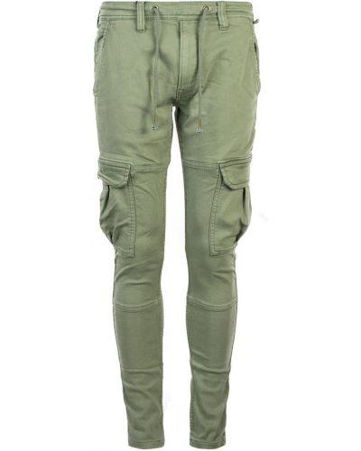 Zielone joggery Pepe Jeans