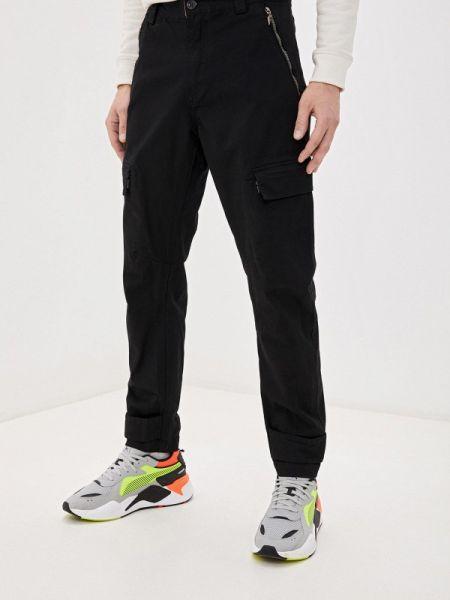 Черные брюки карго для беременных Forward