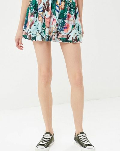 Зеленая прямая юбка карандаш Femi Stories
