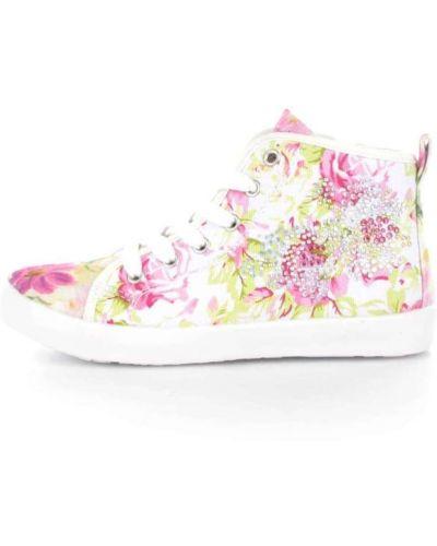 Różowe wysoki sneakersy Lelli Kelly