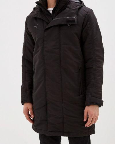 Утепленная куртка черная осенний Puma