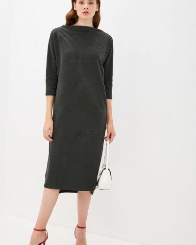 Базовое прямое зеленое платье Base Forms