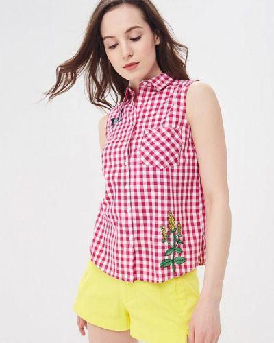 Блузка розовая весенний Modis