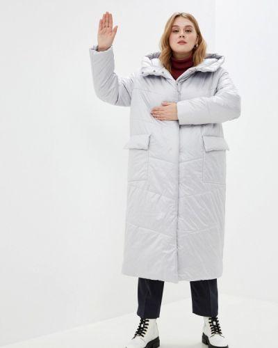 Утепленная куртка - серебряная Modress