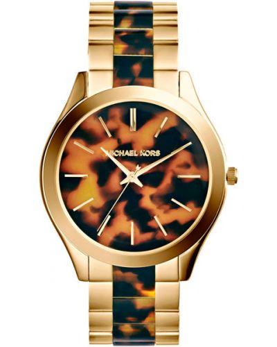 Водонепроницаемые часы кварцевые серые Michael Kors