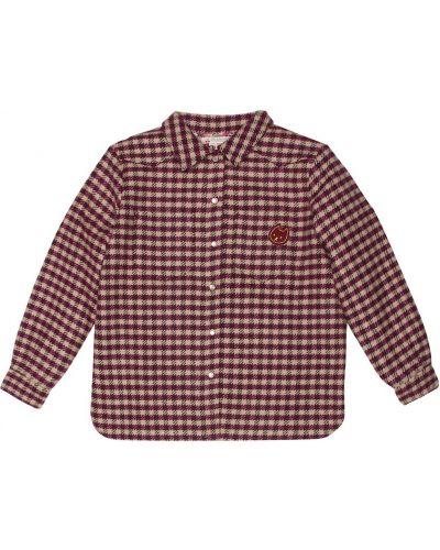 Классическая рубашка фиолетовый оксфордская Bonpoint