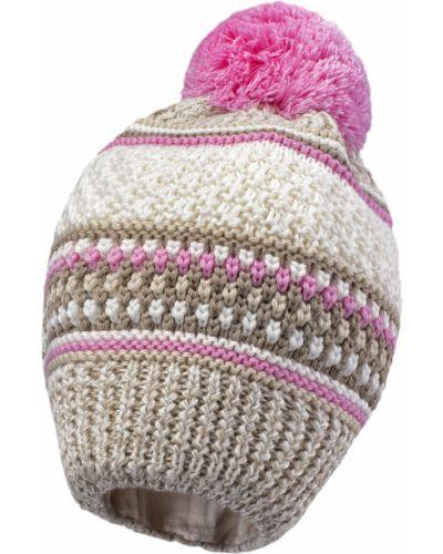 Зимняя шапка бежевая Kerry